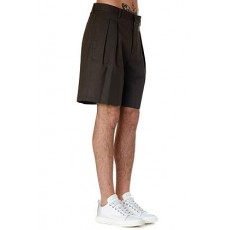 [해외]20SS[LOW BRAND]Black cotton shorts _  L1PSS205158 -M039