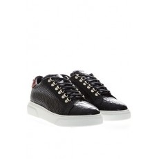 [해외]20SS[GIULIANO GALIANO]Vip v ii low top sneakers in black and red python leather _  VIP VI LOW BLACK/REDPYTHON