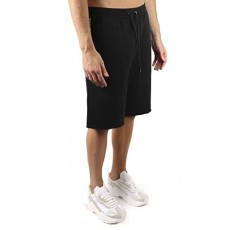 [해외]21SS[몽클레어 지니어스]Black cotton logo-tape track shorts _  F209U8H70200 809F4999