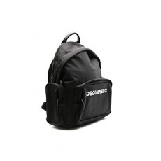 [해외]21SS[디스퀘어드]Black backpack in technical fabric with logo _  BPM0045 11702174M063