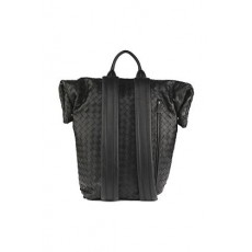[해외]21SS[보테가베네타]Black woven backpack _  630241 VCRL38803