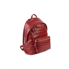 [GIULIANO GALIANO]Falcon backpack in crocodile-effect embossed leather _  FALCON CROCROSSO