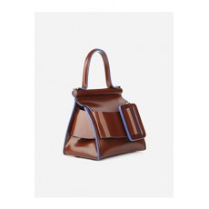 [보이백]Karl 19 leather handbag _  KARL 19 -CASTAGNA