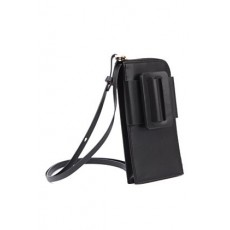 [해외]21SS[보이백]Phone case buckle crossbody in leather _  BUCKLE CROSS BODY PHONE CASE -BLACK